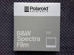 POLAROID SPECTRA Black&White Instant Film LAST BATCH