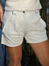 Leder-Short Hot Pants in ECHT-LEDER im ELEGANTEN Style für Damen