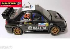 Subaru Impreza WRC Pilotado ROSSI 1/32 Scalextric