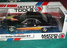 "GREENLIGHT/AUTO WORLD 1970 DODGE CHALLENGER R/T CUSTOM ""MATCO TOOLS"" 1/18"