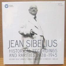 JEAN SIBELIUS 1928-1945 7 CD BOX SS STILL SEALED MONO ADD WARNER CLASSICS