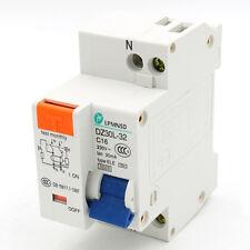 FI Schutzschalter ELCB AC 230V 16A 1 Pole 1P Überlastschutz Circuit Breaker