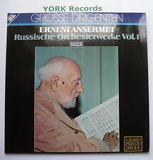6.48131 DT - ERNEST ANSERMET - Russische Orchesterwerke Vol 1 - Ex Dbl LP Record
