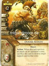 Warhammer invasión - 1x Doom-Seeker #106 - Faith and Steel