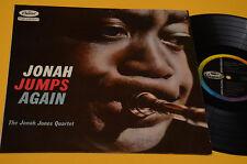 JONAH JONES QUARTET LP JUMPS AGAIN 1°ST ORIG ITALY 1959 TOP JAZZ LAMINATED COVER