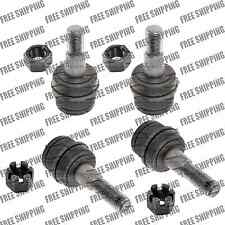 4 Ball Joints Front Lower & Upper Fits 4WD Ford Bronco II Explorer F-100 Ranger