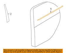 MITSUBISHI OEM 08-15 Lancer Rear-Window Sweep Belt Felt Molding Right 5757A018