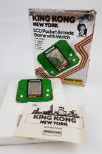 Grandstand King Kong Computadora LCD reloj de juego de Nueva York Portátil en caja completa