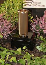 Grabvase aus Bronze   Grabschmuck   Grablape   Grablicht   Vase -->NEU<--