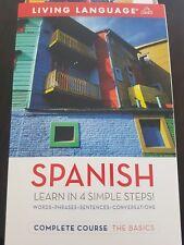 Spanish Complete Course Coursebook (Living Language Complete C... Paperback Book