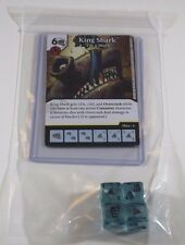 DC Dice Masters Green Arrow Flash * KING SHARK * Set RARE Uncommon CUR + 4 DICE
