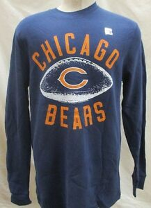Chicago Bears NFL Men's Tail Gate Long Sleeve Thermal Shirt