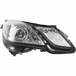 For Benz C207 W212 E-Class Passenger Right Bi-Xenon HID Headlight Assembly Hella
