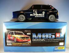 Tamiya RC 1/12 Volkswagen Golf Mk.1 Racing Group 2 gebaut in O-Box #3231