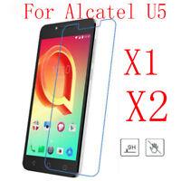 1/2x 9H+ Premium Tempered Glass Film Screen Protector Guard Cover For Alcatel U5