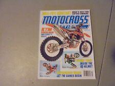 MARCH 2013 MOTOCROSS ACTION MAGAZINE,DUAL -PIPE SHOOTOUT,KTM,SUPERCROSS WARS,
