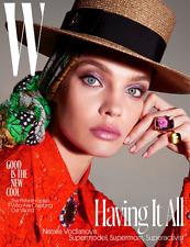 W Magazine June July 2017 NATALIA VODIANOVA, Haider Ackerman, Stella McCartney