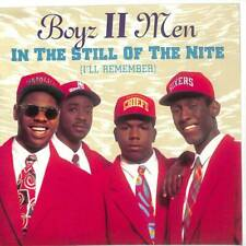 "Boyz II Men - In The Still Of The Nite (I'll Remember) - 7"" Vinyl Record"