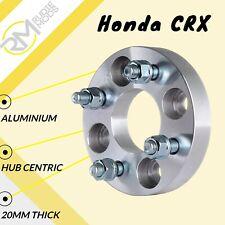 4x100 20mm Hubcentric Wheel Distanziatori 1 Coppia Per Adattarsi Honda Civic EK EG EH