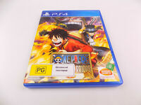 Mint Disc Playstation 4 Ps4 One Piece Pirate Warriors 3 III Free Postage