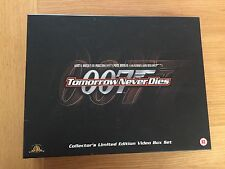 007 tomorrow never dies collectors limited edition video box set