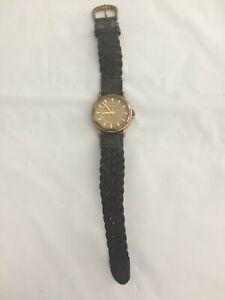 Vintage Bronze Brown Fossil Men's Watch - Works