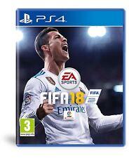 FIFA 18 PS4 JUEGO FISICO ESPAÑOL NUEVO PRECINTADO CASTELLANO PAL ESPAÑA