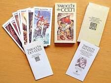 I TAROCCHI DEI CELTI Antonio Lupatelli  - Lo Scarabeo 1991 NEW Celts Celtes