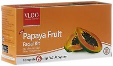 VlCC Papaya Fruit Facial Kit Set of 6 Lightens All Age Spots & Reduces Wrinkles