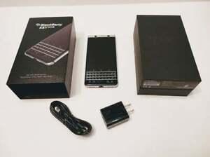BLACKBERRY KEYONE KEY1 UNLOCKED CELL PHONE ROGERS CHATR BELL TELUS KOODO FIDO+++