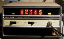 Heathkit IB-1101 Frequency Counter 100 MHz, Nixie tubes, working