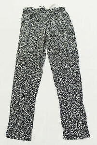Long Tall Sally Women's Drawstring Ditsy Floral Trousers JB9 Blue Size 12 NWT