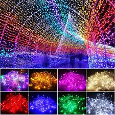 10M 20M 50M100M Christmas Lights Xmas Tree Fairy String Lamp Garden Party Decor