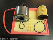 PEUGEOT 308 3008 1.6 HDI SERVICE KIT OIL AIR FUEL FILTERS
