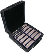Johnson Blues King Harmonica Set Includes All 12 Keys and Case