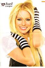 Ein Poster mit Avril Lavigne Rückseite Jonas Brother für Deine Sammlung Popcorn
