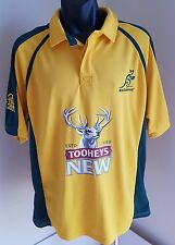 AUSTRALIAN WALLABIES RUGBY UNION MEN'S POLO SHIRT SIZE XL KOOGA