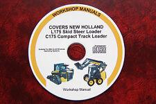 NEW HOLLAND L175 SKID STEER & C175 TRACK LOADER WORKSHOP, SERVICE, REPAIR MANUAL