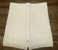 culotte T38 à jarretelles gaine taille haute vintage rétro shaper panties m 286!
