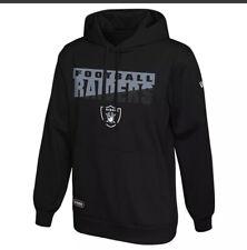 New Era NFL Football Mens Oakland Raiders Scoreboard Pullover Performance Hoodie