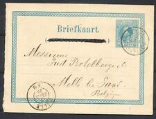 V-KRT. BRIEFK.5 CT.G.9 ROTTERDAM-MELLE (B) 6 FEB 78 (ANTW.BET.DOORGEHAALD) Zi468