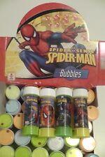 36 BOLLE DI SAPONE SPIDER MAN con scatola