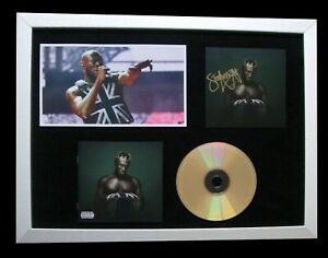 STORMZY+SIGNED+FRAMED+HEAVY IS THE HEAD+PROOF=100% AUTHENTIC+EXPRESS+GLOBAL SHIP