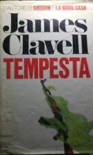 TEMPESTA JAMES CLAVELL I EDIZIONE 1987 Q18