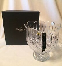 """NEW! House of Waterford Anniversary 10"""" Crystal Diamond Cut Signed Trifle Bowl"""