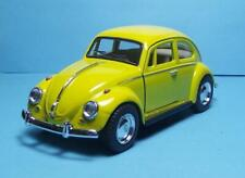 """1967 Volkswagon Classic Beetle 5"""" Die Cast w/Pl Bk Power & Opening Dr Yellow 8"""