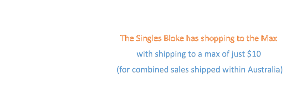 The Singles Bloke at careyhammer