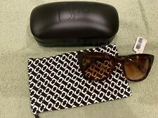 BRAND NEW Diane von Furstenberg Neri Brown Sunglasses $126