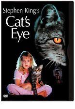 Cats Eye - Stephen King (DVD, 2006) REGION FREE - BRAND NEW SEALED - FREE POST!