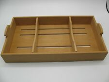 Elie Bleu Spanish Cedar Removable Cigar Tray for 120 Humidor Adjustable Dividers